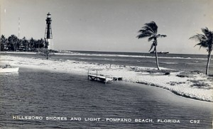 hillsboro inlet lighthouse 1930s
